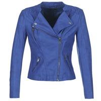 Îmbracaminte Femei Jachete din piele și material sintetic Only AVA Albastru