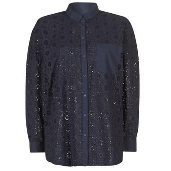 Îmbracaminte Femei Cămăși și Bluze Only IRMA Bleumarin