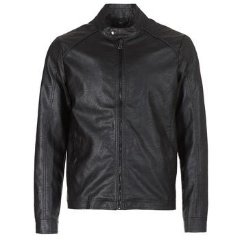 Îmbracaminte Bărbați Jachete din piele și material sintetic Yurban IMIMID Negru