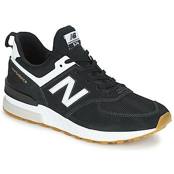 Încăltăminte Bărbați Pantofi sport Casual New Balance MS574 Negru