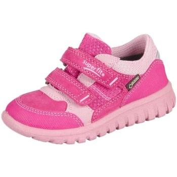 Pantofi Copii Pantofi sport Casual Superfit Sport Mini Pink Kombi Velour Tecno Textil Roz