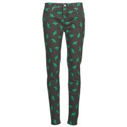 Îmbracaminte Femei Jeans slim American Retro TINA Negru / Verde