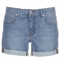 Îmbracaminte Femei Pantaloni scurti și Bermuda Moony Mood INYUTE Albastru / LuminoasĂ