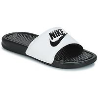 Încăltăminte Bărbați Șlapi Nike BENASSI JUST DO IT Alb / Negru