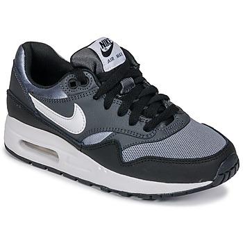 Încăltăminte Băieți Pantofi sport Casual Nike AIR MAX 1 GRADE SCHOOL Negru / Gri