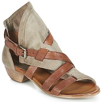 Pantofi Femei Sandale și Sandale cu talpă  joasă Dream in Green BIVIO Taupe
