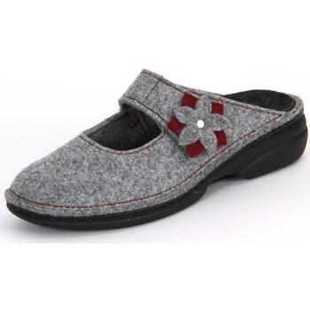 Pantofi Femei Papuci de casă Finn Comfort Arlberg Light Greycassis Wollfilz Gri