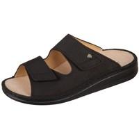Pantofi Bărbați Papuci de vară Finn Comfort Riad Buggy Negre