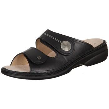 Pantofi Femei Papuci de vară Finn Comfort Sansibar Negre