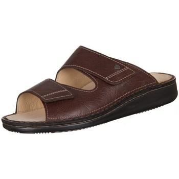 Pantofi Bărbați Papuci de vară Finn Comfort Riad Braun Karbo Cafenii
