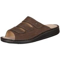 Pantofi Bărbați Papuci de vară Finn Comfort Korfu Tabak Carat Cafenii