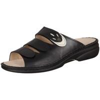 Pantofi Femei Papuci de vară Finn Comfort Kos Negre