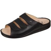 Pantofi Bărbați Papuci de vară Finn Comfort Korfu Bison Negre
