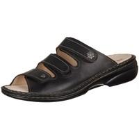 Pantofi Femei Papuci de vară Finn Comfort Menorca Negre