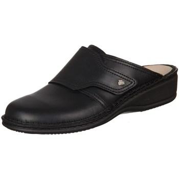 Pantofi Femei Saboti Finn Comfort Aussee Nappa Seda Negre