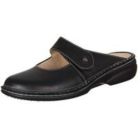 Pantofi Femei Saboti Finn Comfort Stanford Nappa Seda Negre