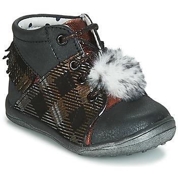 Pantofi Fete Pantofi sport stil gheata Catimini PEPITA Negru / Alamă