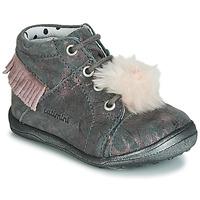 Pantofi Fete Pantofi sport stil gheata Catimini PEPITA Gri / Roz