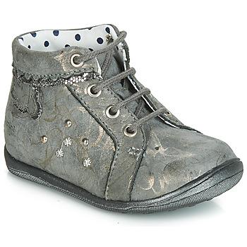 Încăltăminte Fete Pantofi sport stil gheata Catimini FANETTE Vte /  gris-marmura / Auriu / Dpf / Gluck