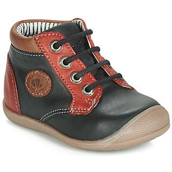 Încăltăminte Băieți Pantofi sport stil gheata Catimini RAYMOND  negru-roșu / Dpf / Kimbo