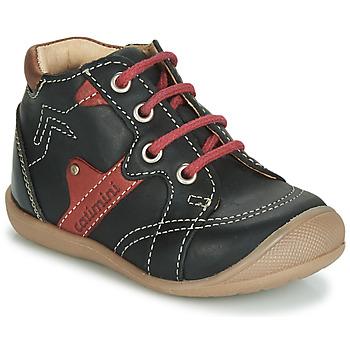 Pantofi Băieți Pantofi sport stil gheata Catimini GASTON Negru / Roșu