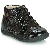 Pantofi Fete Pantofi sport stil gheata GBB NICOLE Negru / Paiete
