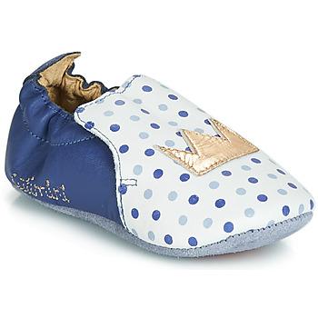 Pantofi Fete Papuci de casă Catimini CHIQUETTE Albastru / Alb