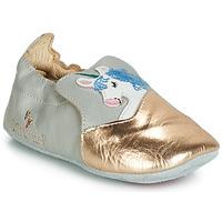 Pantofi Fete Papuci de casă Catimini LICORNETTE Gri / Auriu