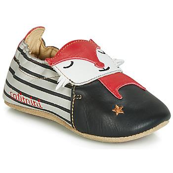 Pantofi Băieți Papuci de casă Catimini RENARDOU Negru / Gri / Roșu