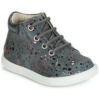 Încăltăminte Fete Pantofi sport stil gheata GBB NICKY  gri-buline / Roz / Dpf / Messi