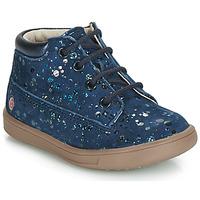 Încăltăminte Fete Pantofi sport stil gheata GBB NINON Vte / Bleumarin-buline / Dpf / Messi