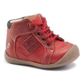 Pantofi Băieți Pantofi sport stil gheata GBB RACINE Vte / Cărămiziu / Dpf / Raiza