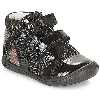 Pantofi Fete Pantofi sport stil gheata GBB ROXANE Negru / Argintiu