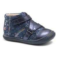Încăltăminte Fete Pantofi sport stil gheata GBB NICOLETA Vte / Bleumarin-buline / Dpf / Franca