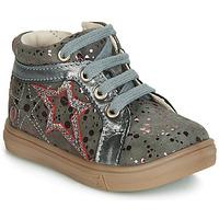 Pantofi Fete Pantofi sport stil gheata GBB NAVETTE Gri / Roz