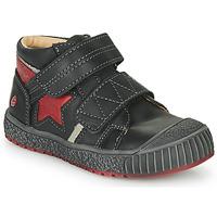 Pantofi Băieți Pantofi sport stil gheata GBB RADIS Vte /  negru-cărămiziu / Dpf / Linux