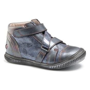 Încăltăminte Fete Pantofi sport stil gheata GBB RADEGONDE Vtv / Albastru /  gri+imp / Dpf / Franca