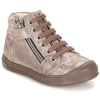 Încăltăminte Fete Pantofi sport stil gheata GBB DESTINY Taupe / Bronz