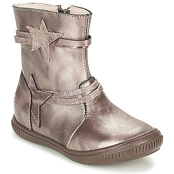 Pantofi Fete Ghete GBB NOTTE Taupe / Bronz
