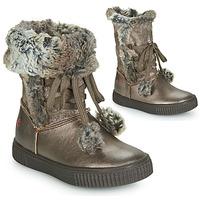 Pantofi Fete Cizme casual GBB NOUSTIK Bronz