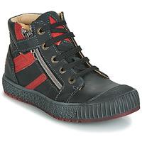 Încăltăminte Băieți Pantofi sport stil gheata GBB RAMBOUTAN Vte /  negru-cărămiziu / Dpf / Linux