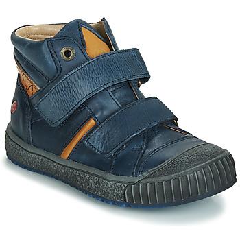Pantofi Băieți Pantofi sport stil gheata GBB RAIFORT Bleumarin / Ocru