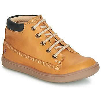 Încăltăminte Băieți Pantofi sport stil gheata GBB NORMAN Ocru / Dpf / Messi