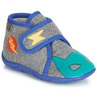Încăltăminte Băieți Papuci de casă GBB SUPER DOUDOU Ttx /  gri-albastru / Dtx / Amis