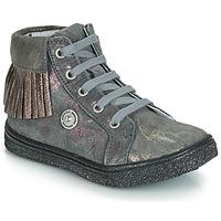 Pantofi Fete Pantofi sport stil gheata Catimini LOULOU Gri / Roz