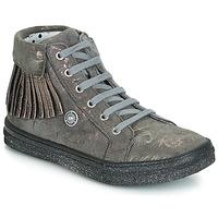 Încăltăminte Fete Pantofi sport stil gheata Catimini LOULOU Vte /  gris-marmura / Roz / Dpf / Dolby