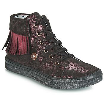 Pantofi Fete Pantofi sport stil gheata Catimini LOULOU Negru / Roz