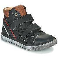 Pantofi Băieți Pantofi sport stil gheata Catimini ROBBY Negru