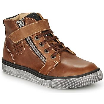 Pantofi Băieți Pantofi sport stil gheata Catimini TOBBY Maro