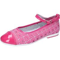 Pantofi Fete Balerin și Balerini cu curea Didiblu AG486 Roz